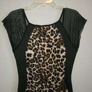 Annabelle Animal Print Dress